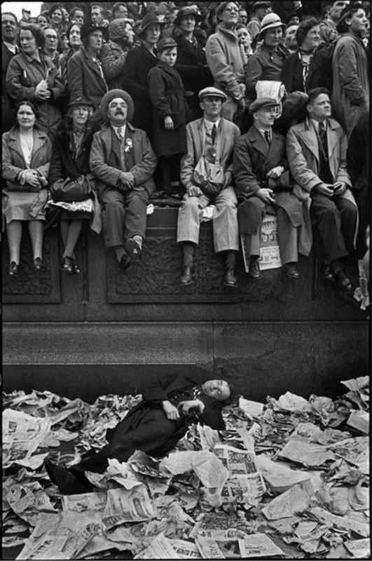 Henri Cartier-Bresson mediofobia